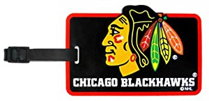Chicago Blackhawks - NHL Soft Luggage Bag Tag