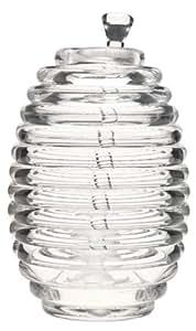 US Acrylic® Beehive Honey Jar with Server