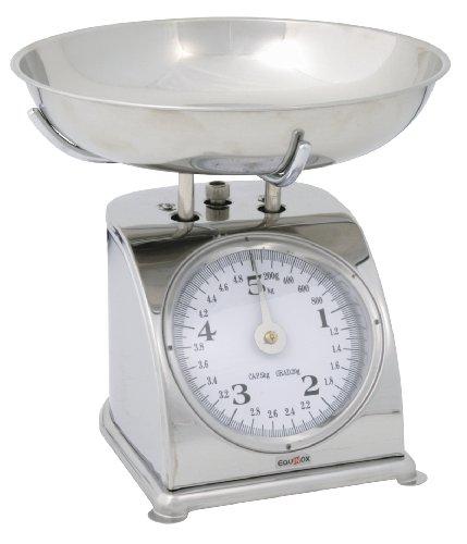 Equinox 505337 Balance de Cuisine Inox 5 kg