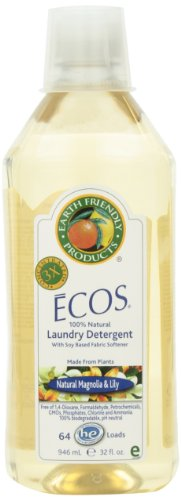 Earth Friendly Products Ecos 3x Magnolia & Lily Liquid Laundry Detergent