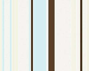Innova 1438 15 papel pintado dise o de rayas color for Papel pintado turquesa y marron
