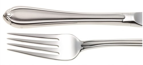 Gorham Melon Bud Frosted 5-Piece Stainless Steel Flatware Place Setting, Service for 1     Bud