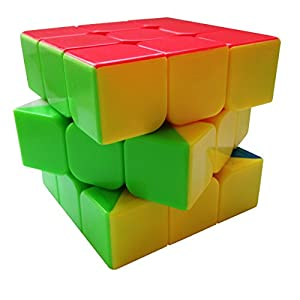 Rephael Magic Puzzle Cube - High Quality 3x3 Cube - Eco Friendly - Stickerless - 6 colors - Great For Complete Beginners And SpeedCubing Pros - The Best Speed Cube - Perfect for SpeedCubing Game - Buy Now And Get A Full Color Solution Guide eBook For Free! - 60 Days Money Back Guarantee!