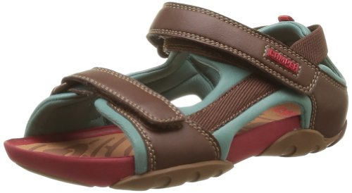 CAMPER Unisex-Child Ous Sandals 80188-012 Brown 6 UK, 23 EU