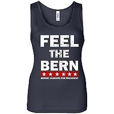 Women's Tank Top: Feel The Bern Bernie Sanders