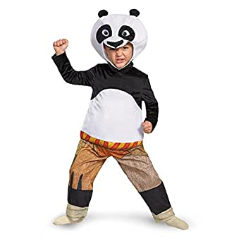 Deluxe Panda-Po Toddler Costume Toddler