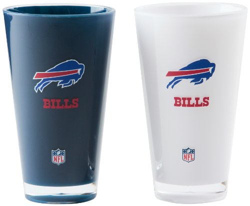 NFL Buffalo Bills 20-Ounce Insulated Tumbler - 2 Pack