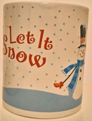 'Let It Snow' Snowman Coffee Mug