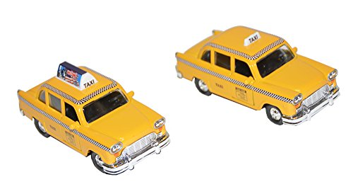 Toysmith Classic Checker Taxi Playset - 1
