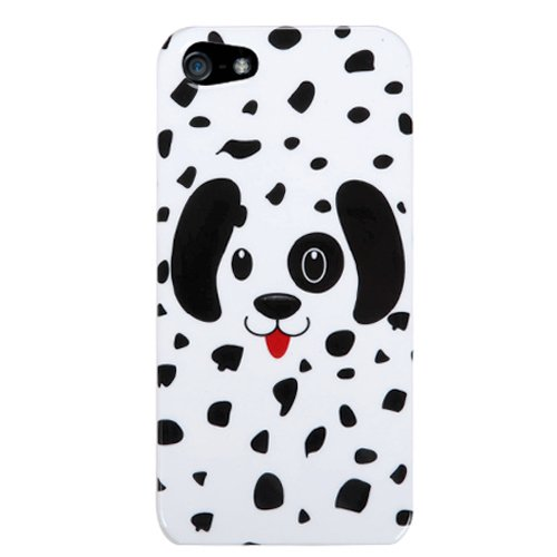 (Dotted Dalmatian) Sumaclife Crystal Snap On Faceplate Shield Protector Case Cover For Apple Iphone 5 (16Gb 32Gb 64Gb)