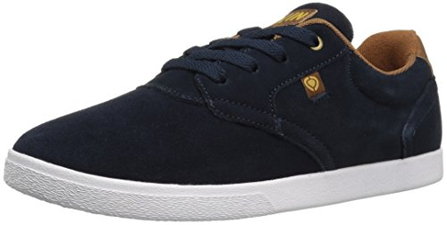 C1RCA Men's JC01 Skateboarding Shoe, Navy/White/Gum, 9 M US