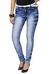 Zrestha Blue Color Denim Jeans For Women