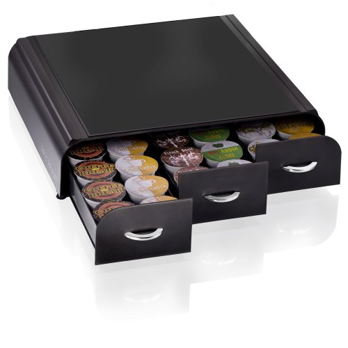 Mind reader coffee pod storage drawer holder organizer keurig k cup verismo c - Rangement dosette dolce gusto ...