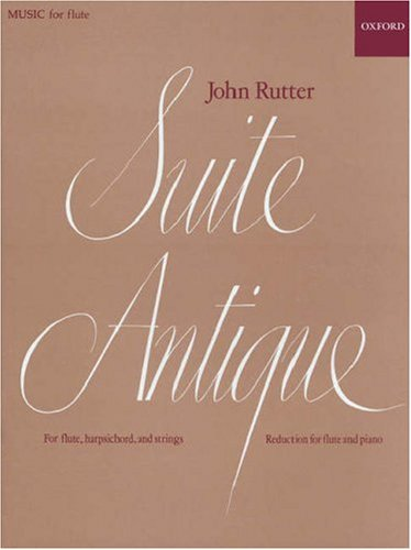 Suite Antique: Reduction for flute and piano