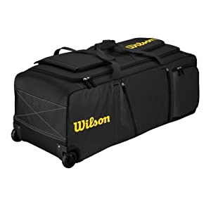 Baseball Softball Extra Large Team Equipment Bag with Wheels and Telescopic Pull... by Wilson