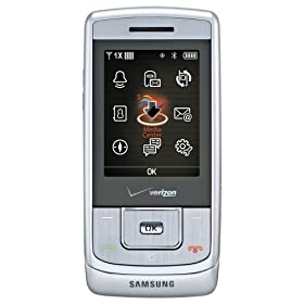 Samsung Sway Phone, Silver (Verizon Wireless)