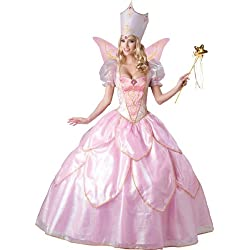 InCharacter Costumes Women's Fairy Godmother Costume, Pink, Small