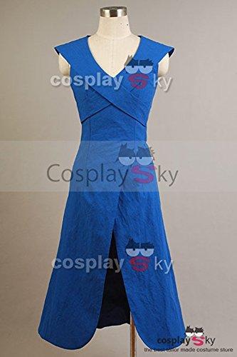 CosplaySky Game of Thrones Daenerys Targaryen Dress Costume
