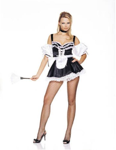 French Maid Lg Adult Womens Costume