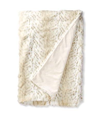 Fabulous Furs Limited Edition Faux Fur Throw, Lynx