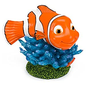 Penn Plax Finding Nemo Resin Ornament for Aquariums, 3-1/2-Inch