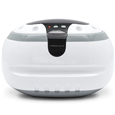 Amazon.com - Professional Ultrasonic Jewelry and Eyeglass Cleaner Cleaning Machine (White) - Electronics Cleaning Products