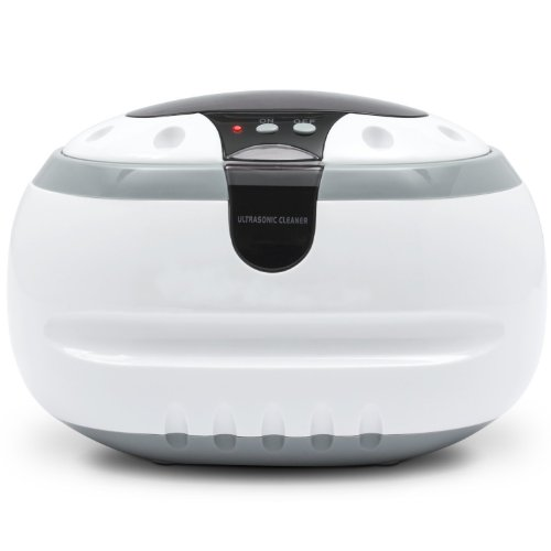 Sale!! Professional Ultrasonic Jewelry and Eyeglass Cleaner Cleaning Machine (White)