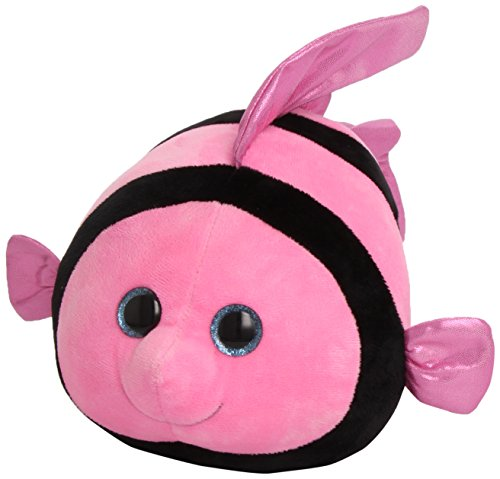 Ty Beanie Ballz Gilly Angelfish Plush, Medium - 1