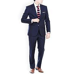 Premium Navy Blue Formal Suit
