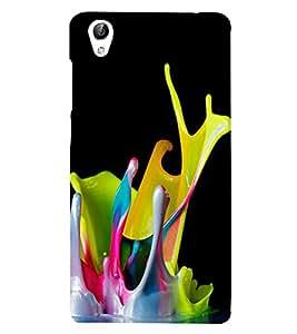 Paint Colours 3D Hard Polycarbonate Designer Back Case Cover for vivo Y51 :: VivoY51L