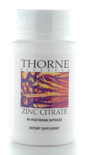 RECHERCHE THORNE - citrate de zinc (30 mg) - 60