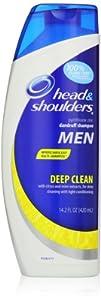 Head & Shoulders Deep Clean For Men Dandruff Shampoo 14.2 Fl Oz (packaging may vary)