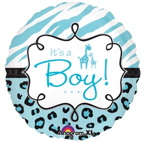 Zebra Baby Shower Supplies front-1075252