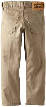 Levi's Little Boys' 511 Slim Fit Trouser, Beige, 4/Regular