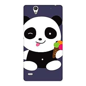 Ajay Enterprises Elite Super cute panda Back Case Cover for Sony Xperia C4
