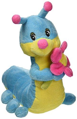 Dogit Luvz Plush Toy, Catepillar, Blue, Small - 1
