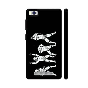 Colorpur Baraati Troopers On Blue Designer Mobile Phone Case Back Cover For Xiaomi Mi 4i | Artist: High And Above