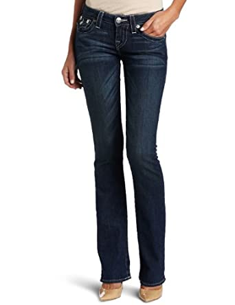 True Religion Women's Becky Traditional Rise Boot Cut Jean, Houston, 30