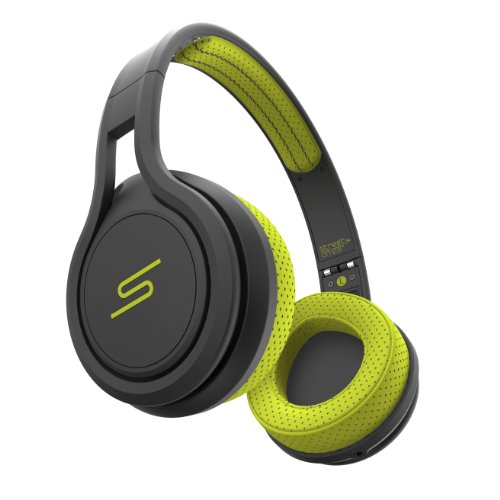 Sms Audio Street By 50 Wired On-Ear Sports Headphones Yellow