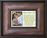 Valentine Gift for Husband, Wife, Boyfriend or Girlfriend - Romantic I Love You Poem with Photo Area