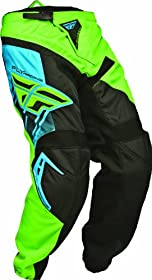 Fly F-16 Race Pant, 18, Green/Black