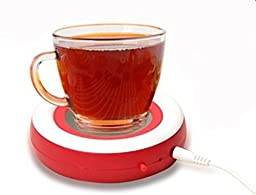 Surborder Shop Coffee Mug Warmer Desktop USB Electronics Heat Cup Warmer Pad Coffee Tea Mug Beverage Insulation Pad Plate