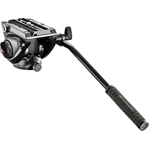 Manfrotto プロフルード ビデオ雲台 60mm フラットベース MVH500AH