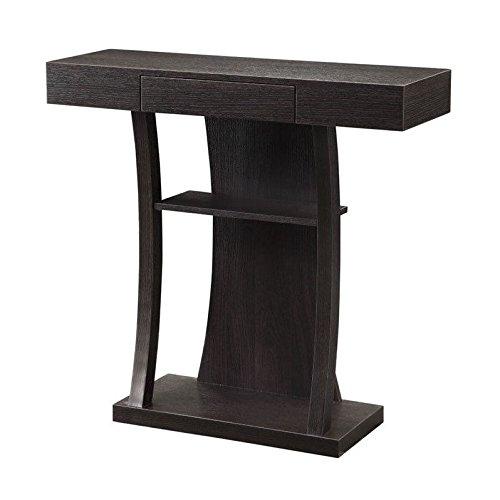 Coaster Home Furnishings 950048 Contemporary Console Table, Cappuccino (Coasters Console Table compare prices)