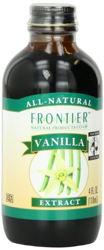 Frontier Vanilla Extract Fair Trade Certified, 4-Ounce Bottle front-459544
