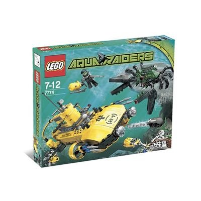 LEGO Aqua Raiders 7774 Crab Crusher