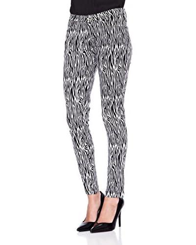 Janis Pantalone Zebra [Nero/Bianco]