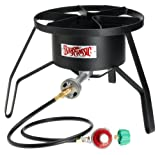 Bayou Classic SP10 High-Pressure Outdoor Gas Cooker, Propane