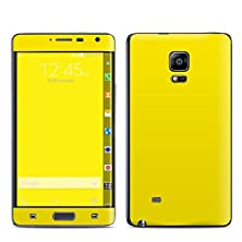 buy Solid State Yellow Design Decal Sticker For Samsung Galaxy Note Edge (High Gloss)