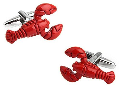 gudeke-ein-paar-einfache-art-und-weise-franzosisch-manner-shirts-red-lobster-manschettenknopfe
